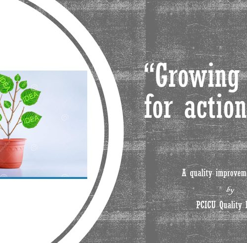 'Growing ideas for action'